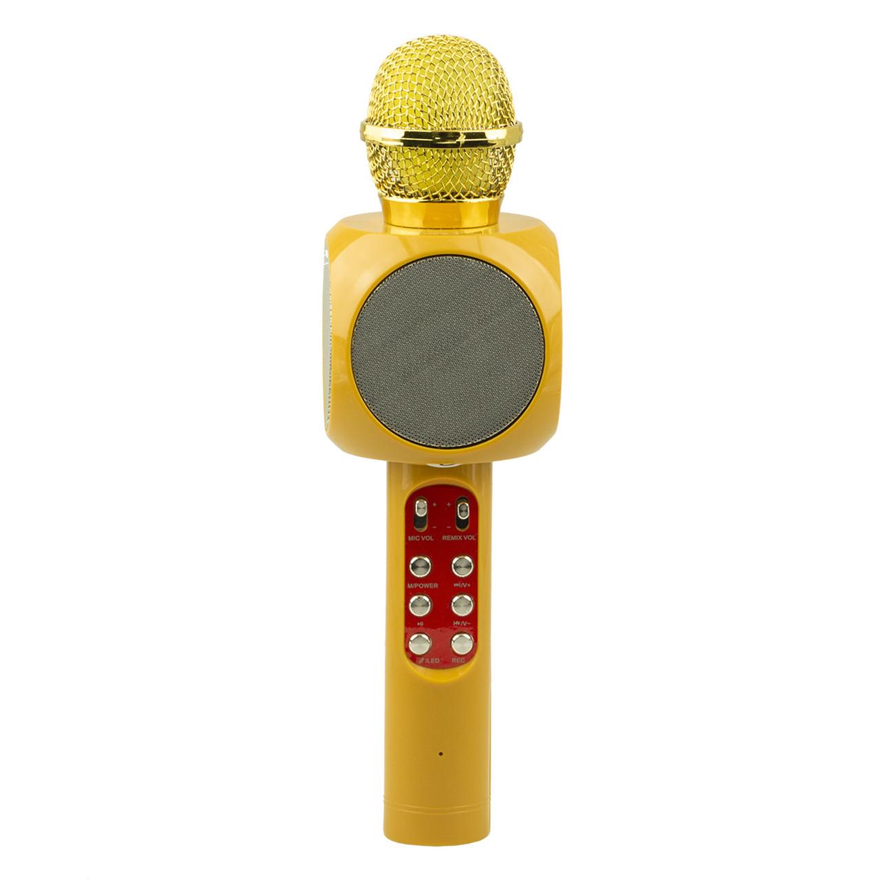 Микрофон-Колонка WS-1816, Gold