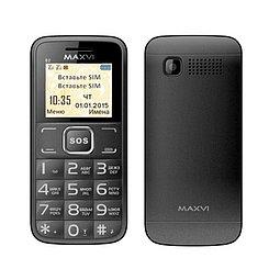 Мобильный телефон Maxvi B2, Black