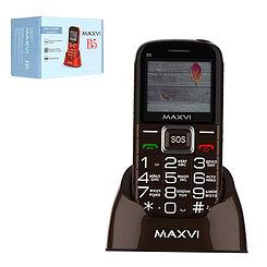 Мобильный телефон Maxvi B5, Brown