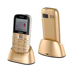 Мобильный телефон Maxvi B6, Gold