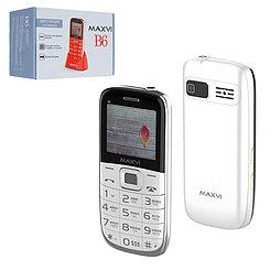 Мобильный телефон Maxvi B6, White