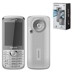 Мобильный телефон Maxvi P10, Silver