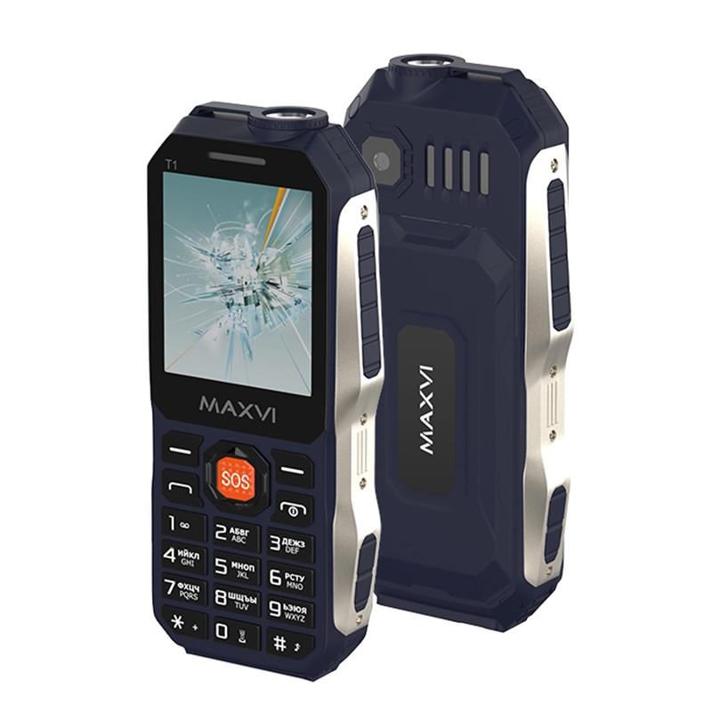 Мобильный телефон Maxvi T1, Blue