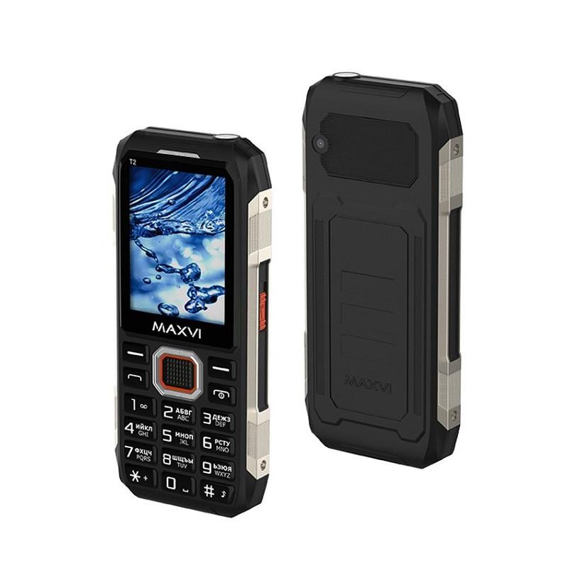 Мобильный телефон Maxvi T2, Black