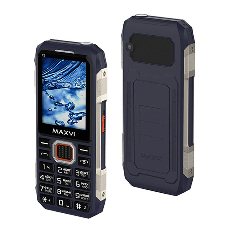 Мобильный телефон Maxvi T2, Blue