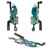 Шлейф Samsung Galaxy S4 mini i9190/i9195/i9192 с коннектором заряда и микрофономc (52)
