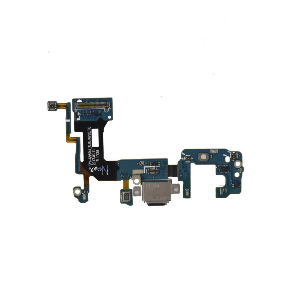 Шлейф Samsung Galaxy S8 G950 с коннектором заряда и гарнитуры (53)