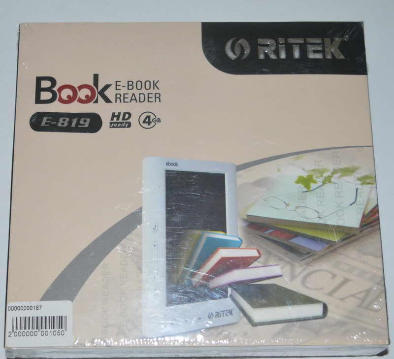 Электронная книга Ritek E-819 4gb