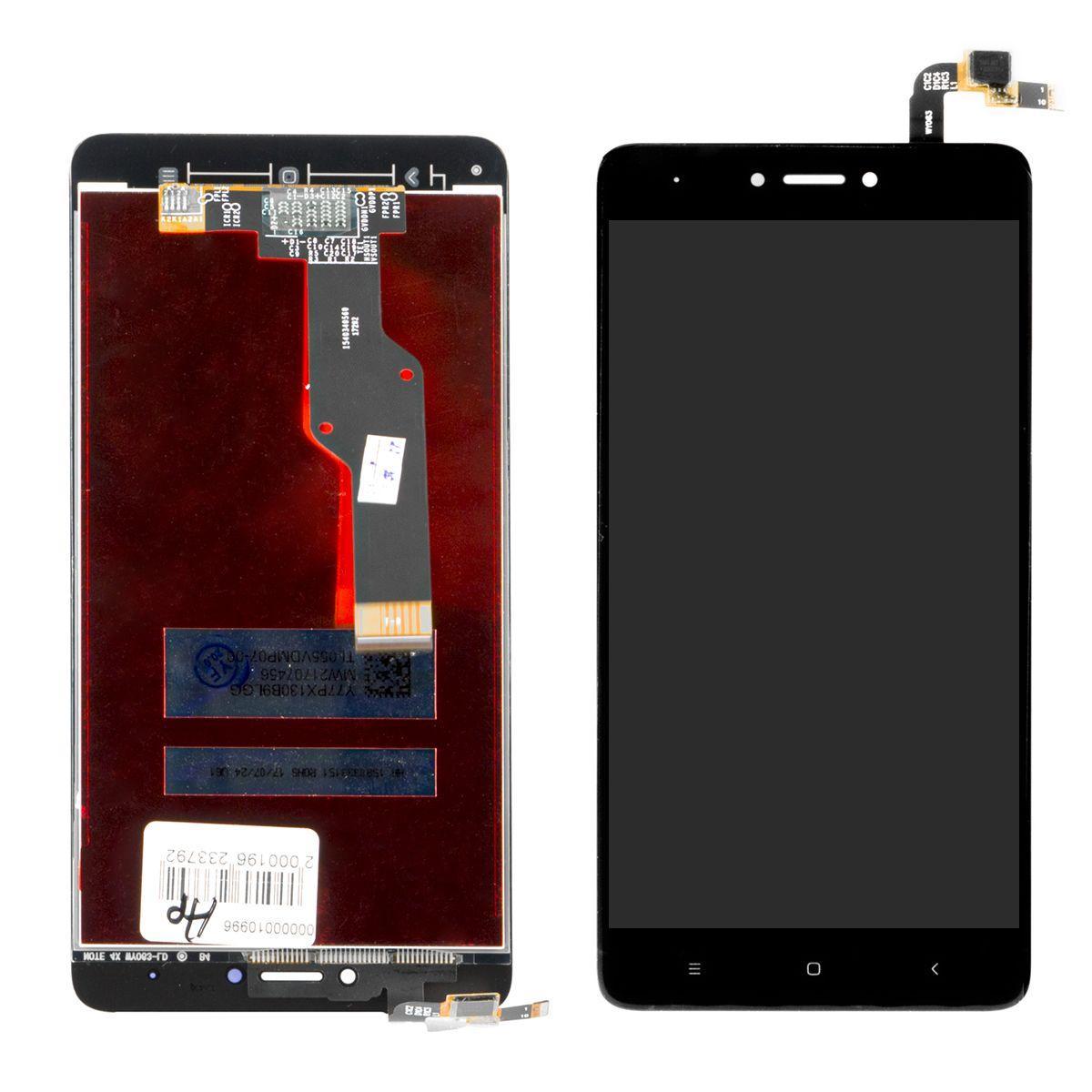Дисплей Xiaomi Redmi Note 4X в сборе Black (64)