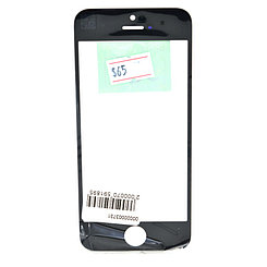 Стекло Apple iPhone 5/5S Black (58)
