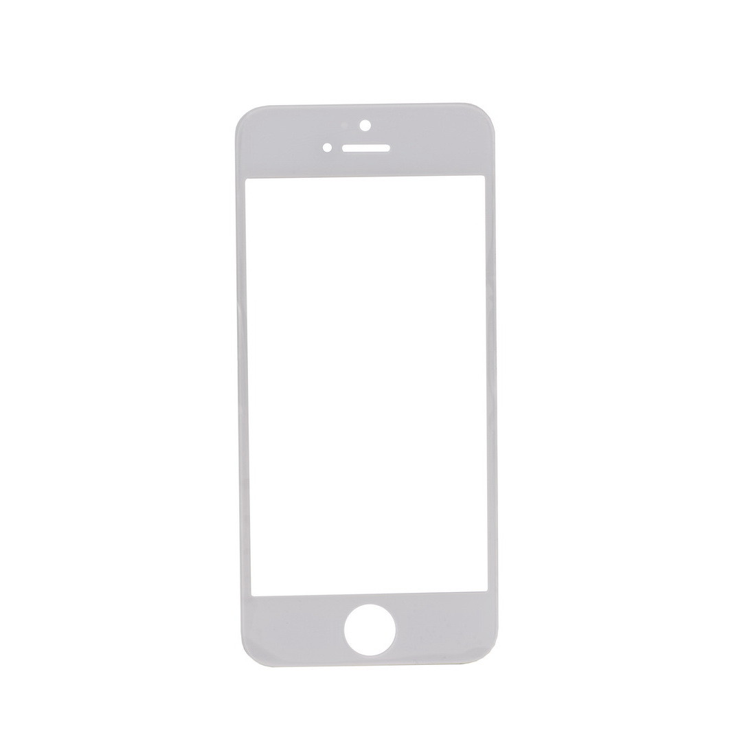 Стекло Apple iPhone 5/5S White (58)