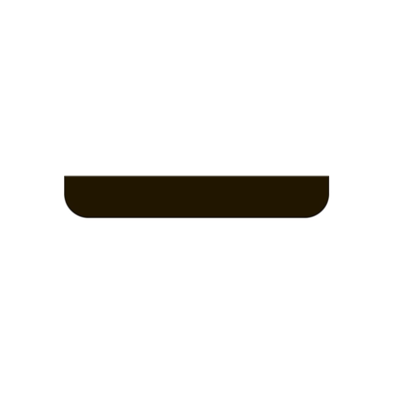 Стекло Apple iPhone 5/5S заднее нижнее Black (58)