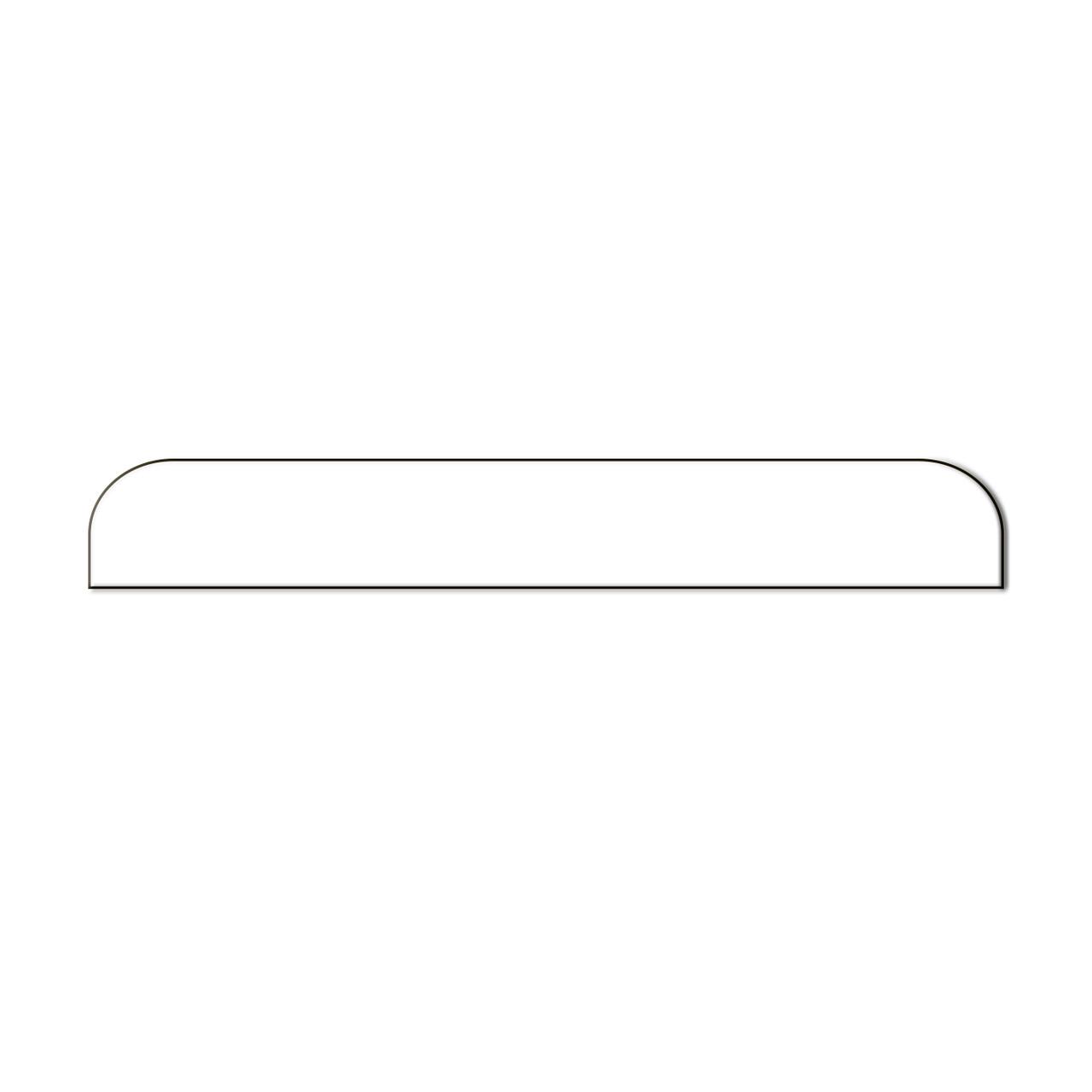 Стекло Apple iPhone 5/5S заднее нижнее White (58)