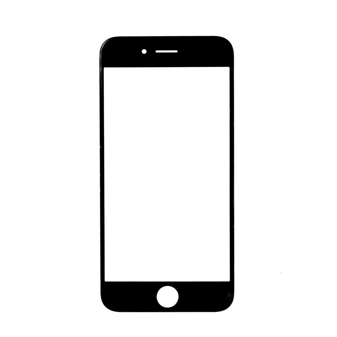 Стекло Apple iPhone 6 Black Original % (60)