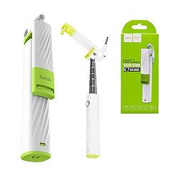 Монопод Hoco K7 Dainty Mini Wired White