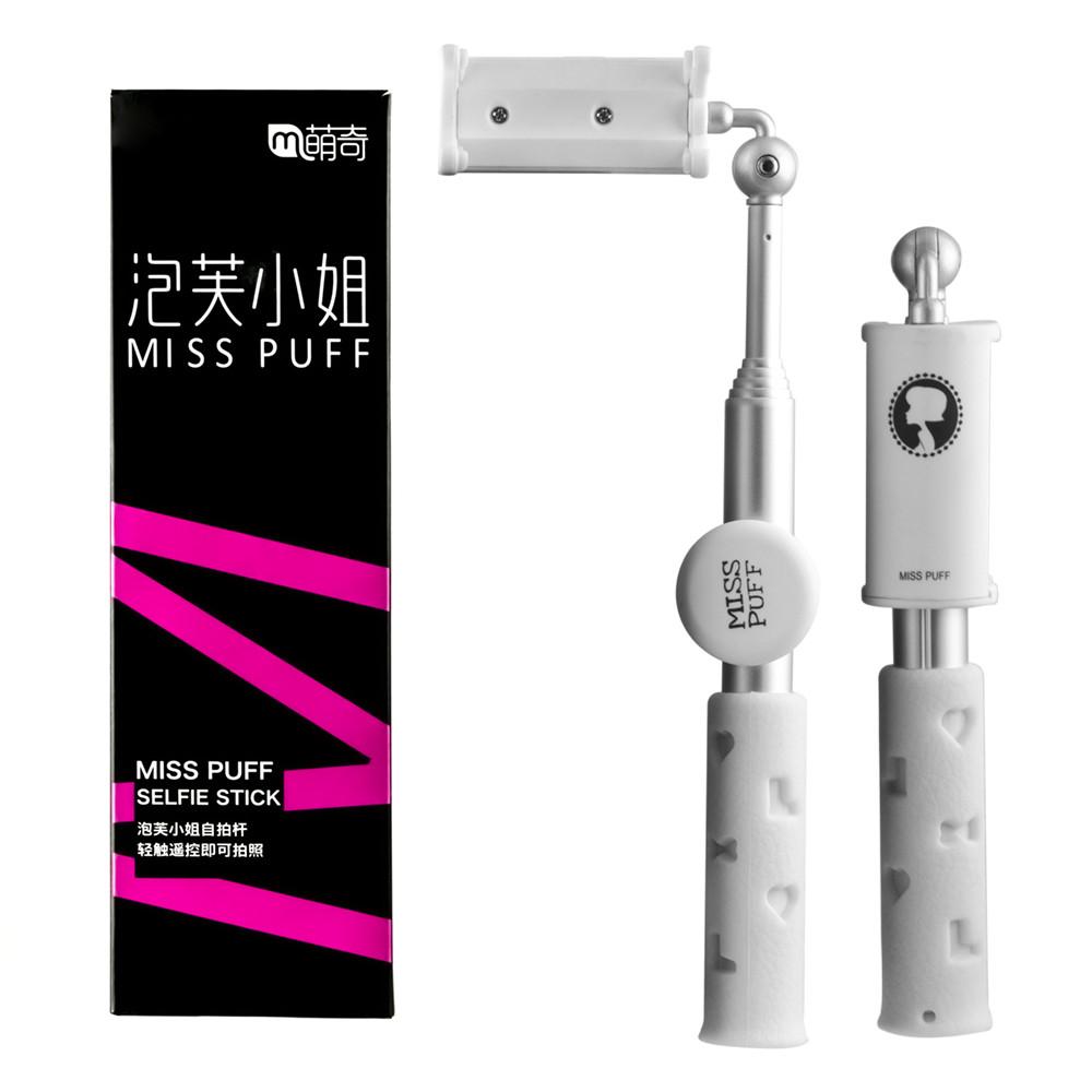 Монопод Miss Puff Bluetooth White