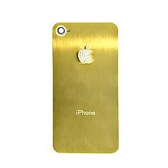 Задняя крышка Apple iPhone 4G cristal Gold/White (69)