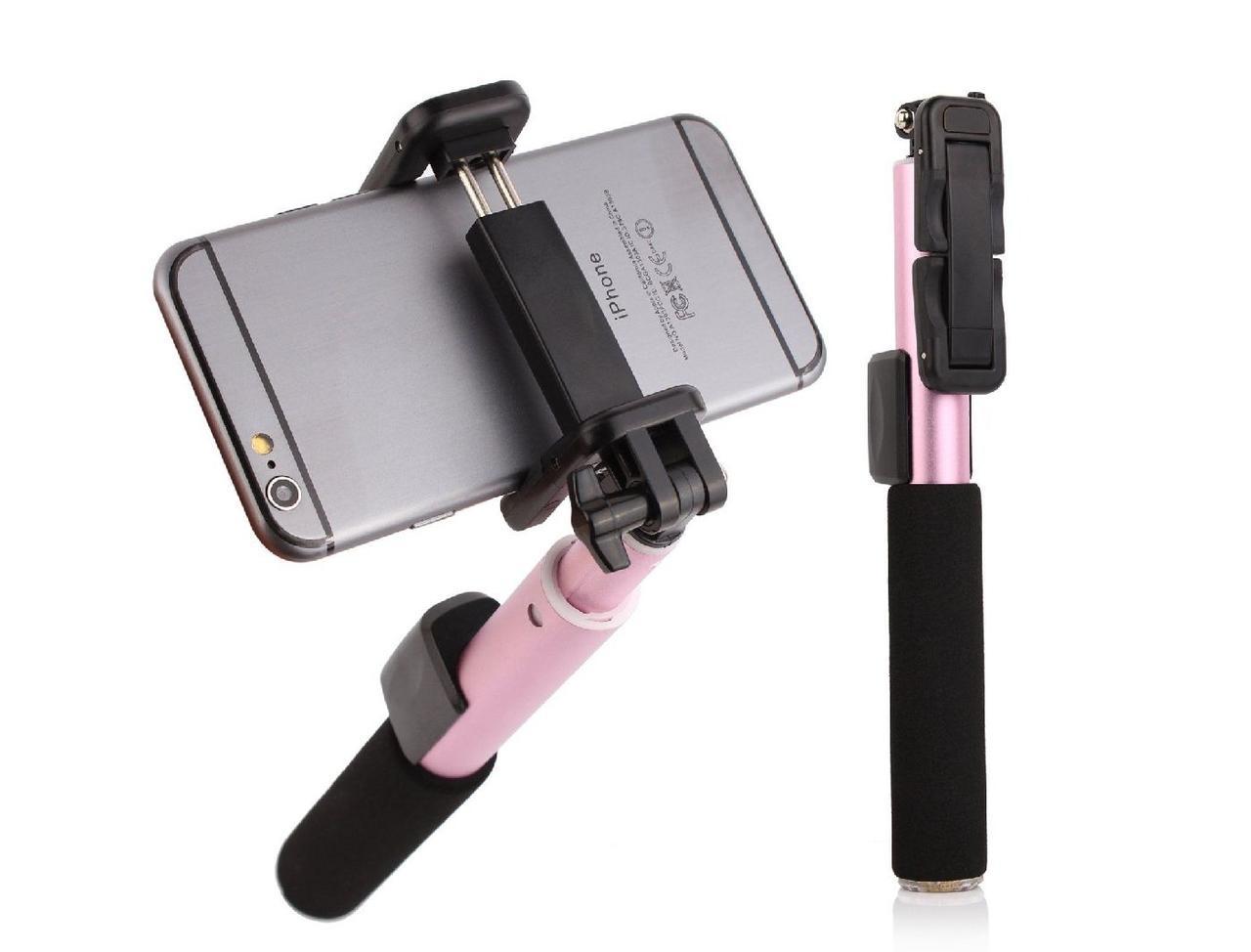 Монопод Remax RP-P4 Bluetooth My device my life Black/Pink