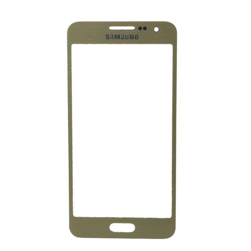 Стекло Samsung Galaxy A3 A300 Gold (57)