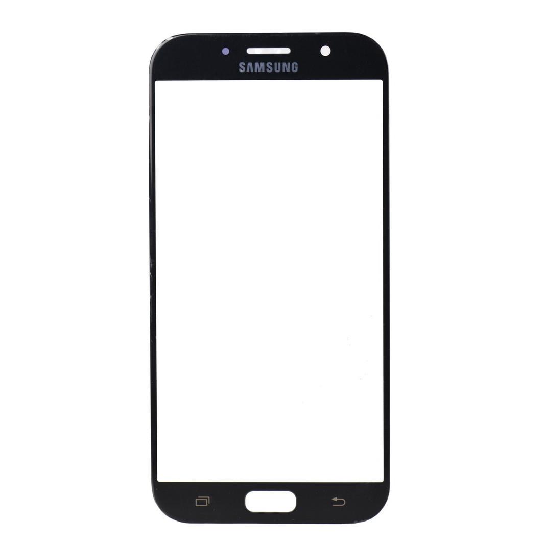 Стекло Samsung Galaxy A7 (2017) A720 Black