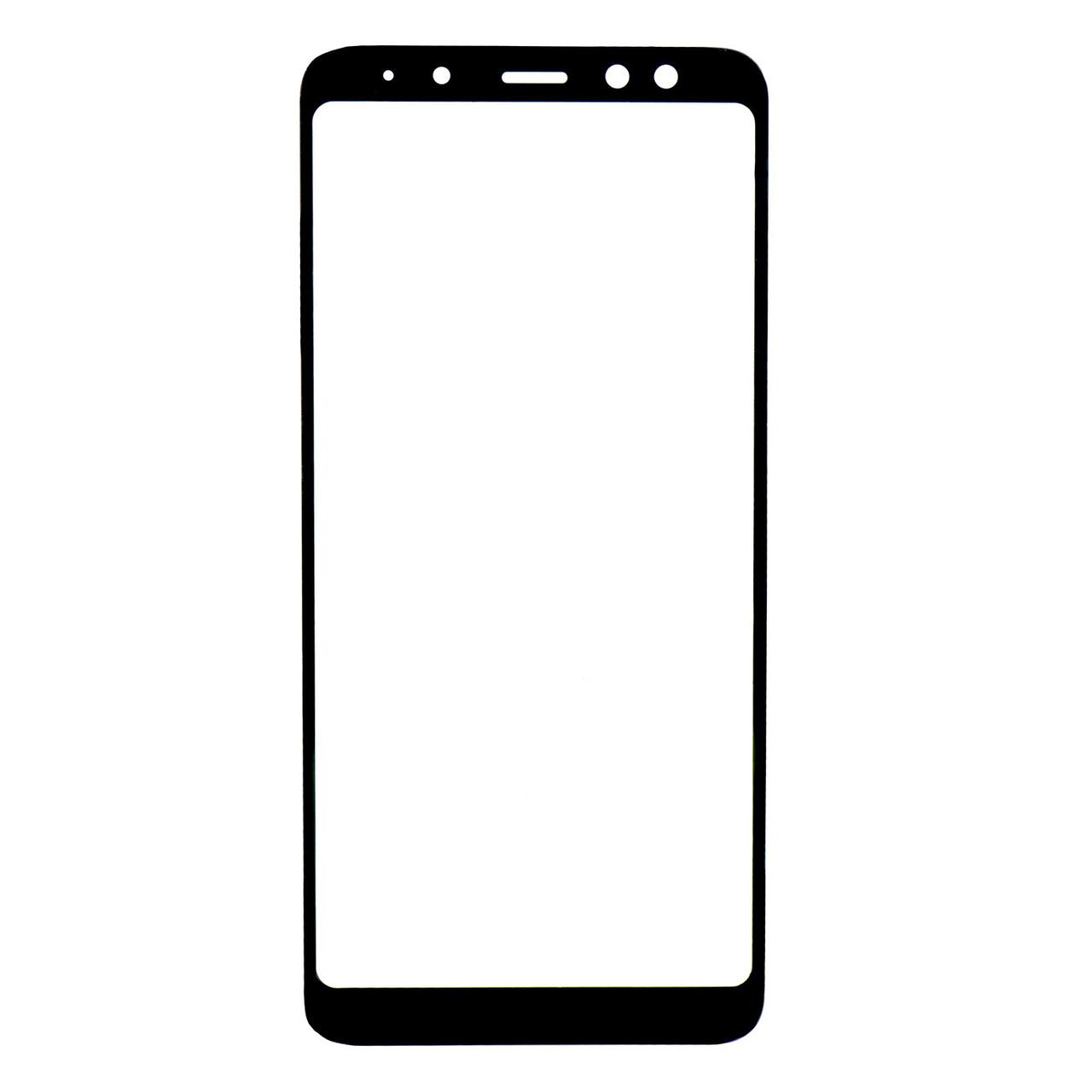 Стекло Samsung Galaxy A8 Black