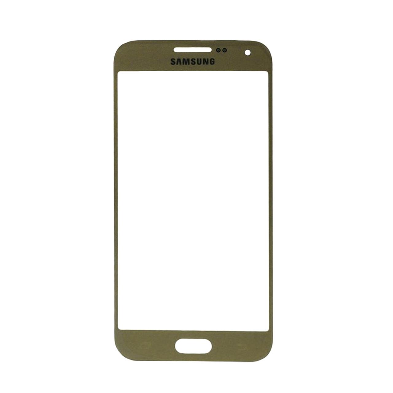 Стекло Samsung Galaxy E5 E500 Gold (57)