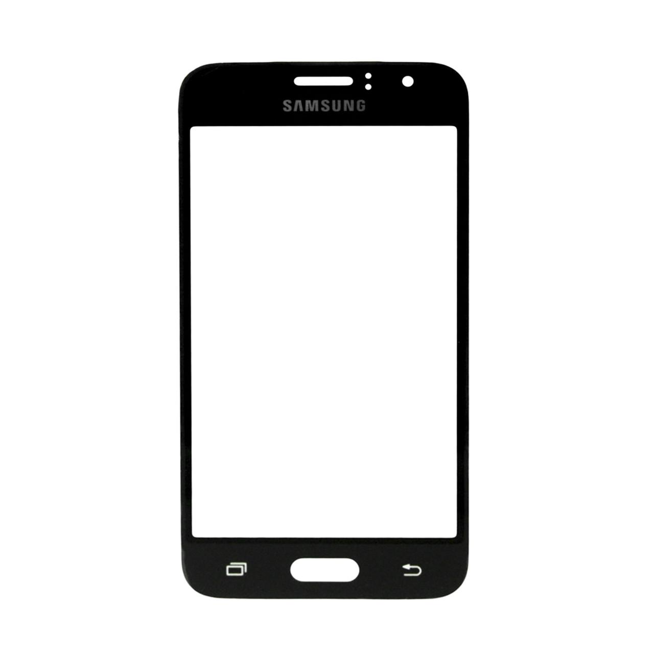 Стекло Samsung Galaxy J1 J110 Black (57)