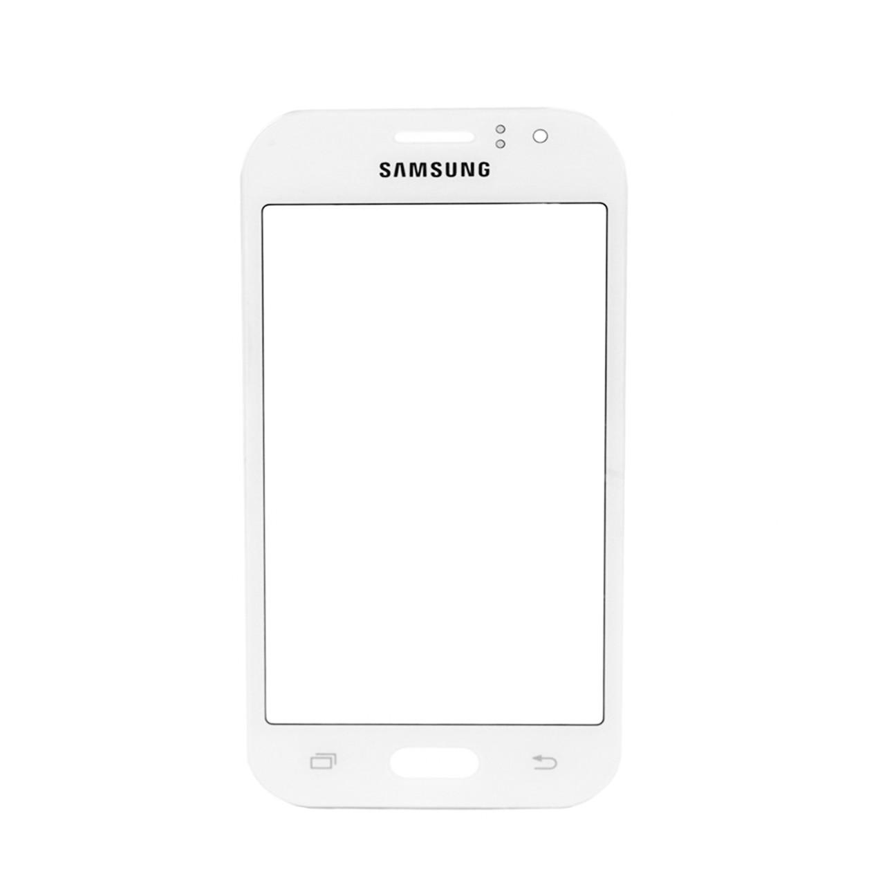 Стекло Samsung Galaxy J1 J110 White (57)