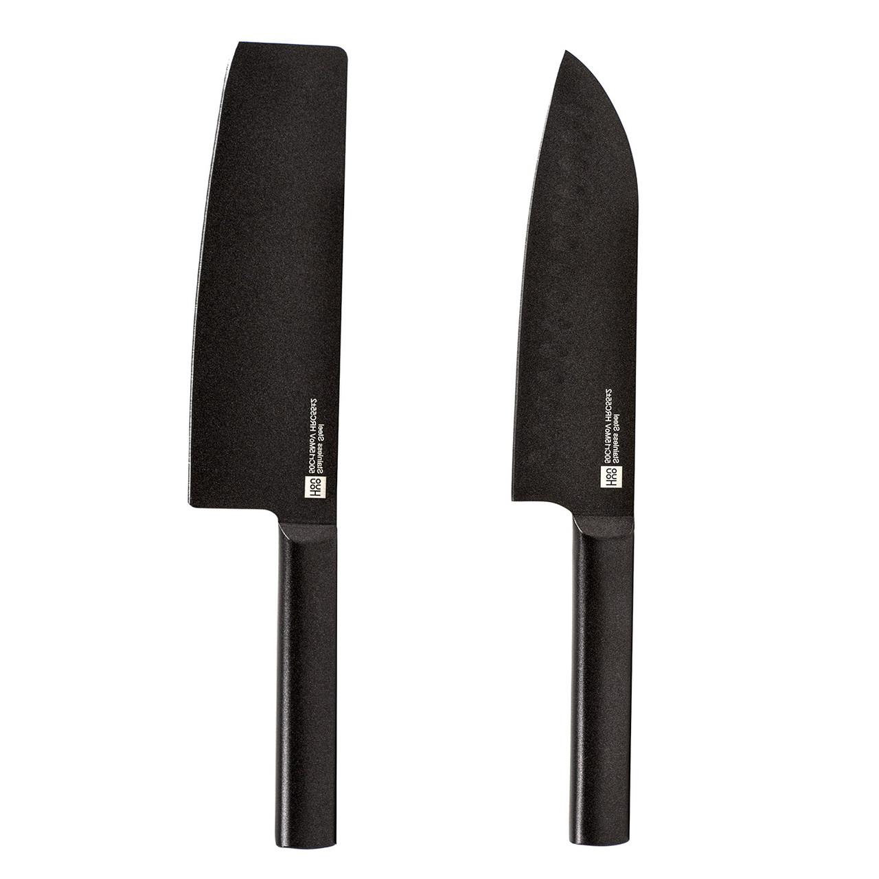 Набор ножей Xiaomi Huo Hou Heat Knife Set 2шт, Black