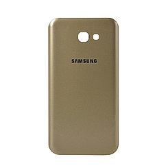 Задняя крышка Samsung Galaxy A7 (2017) A720 Gold (70)