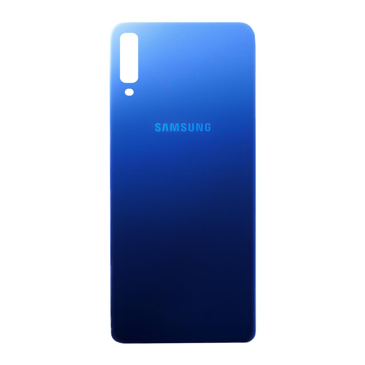Задняя крышка Samsung Galaxy A7 (2018)  A750 Blue