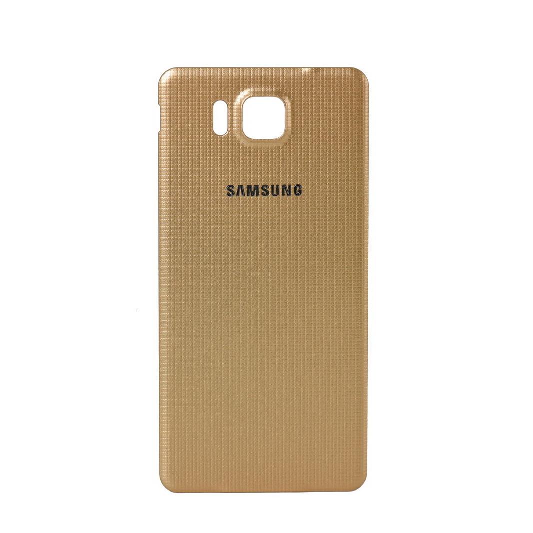 Задняя крышка Samsung Galaxy Alpha G850 Gold (70)