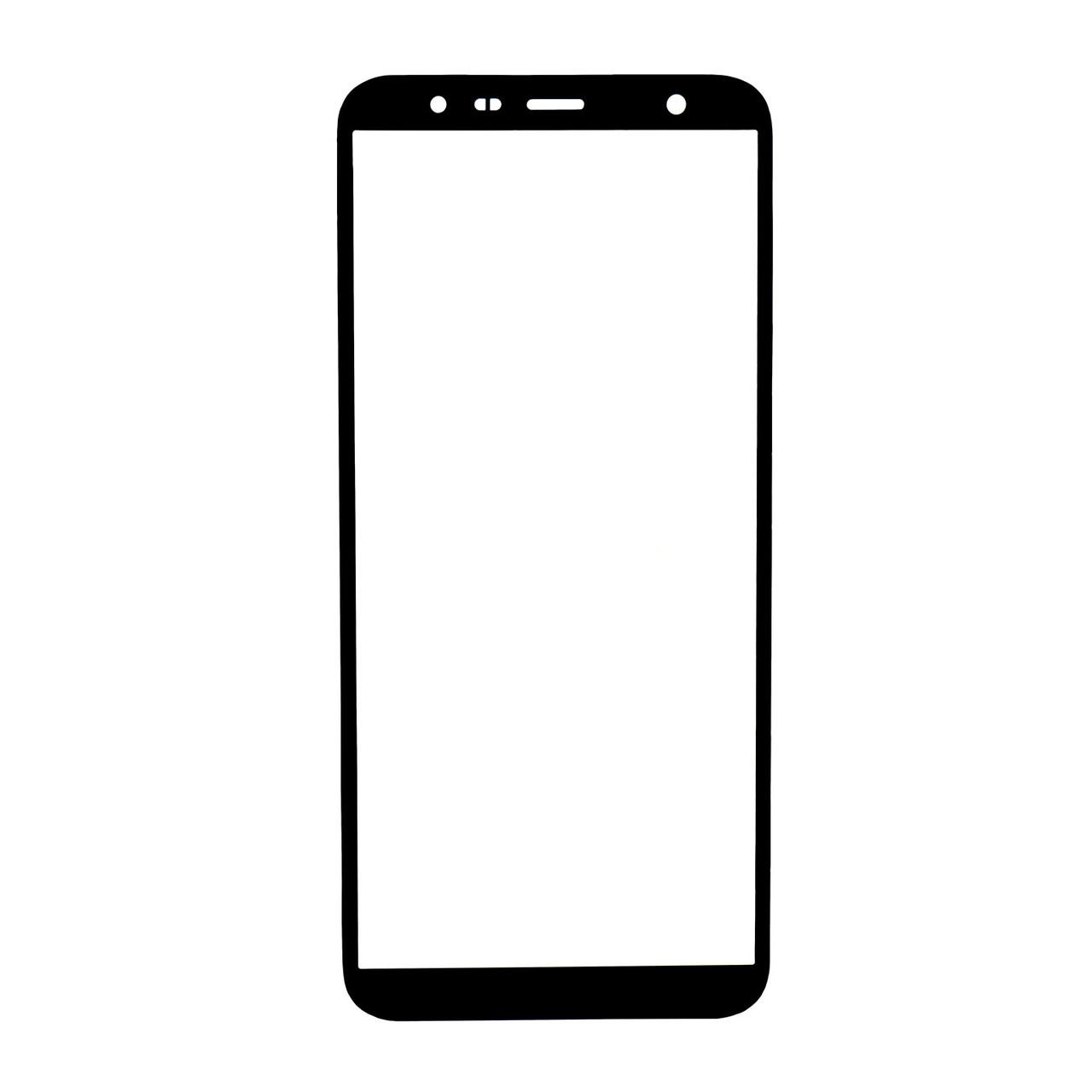 Стекло Samsung Galaxy J6 Plus (2018) J610 Black