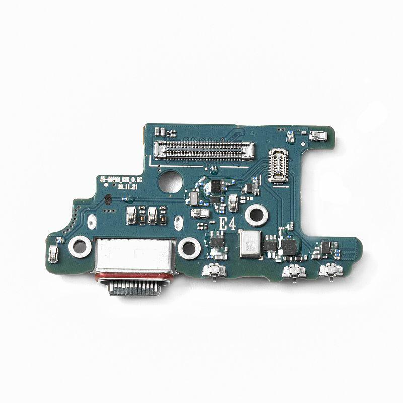 Нижняя плата Samsung Galaxy S20 Plus с коннектором заряда и гарнитуры