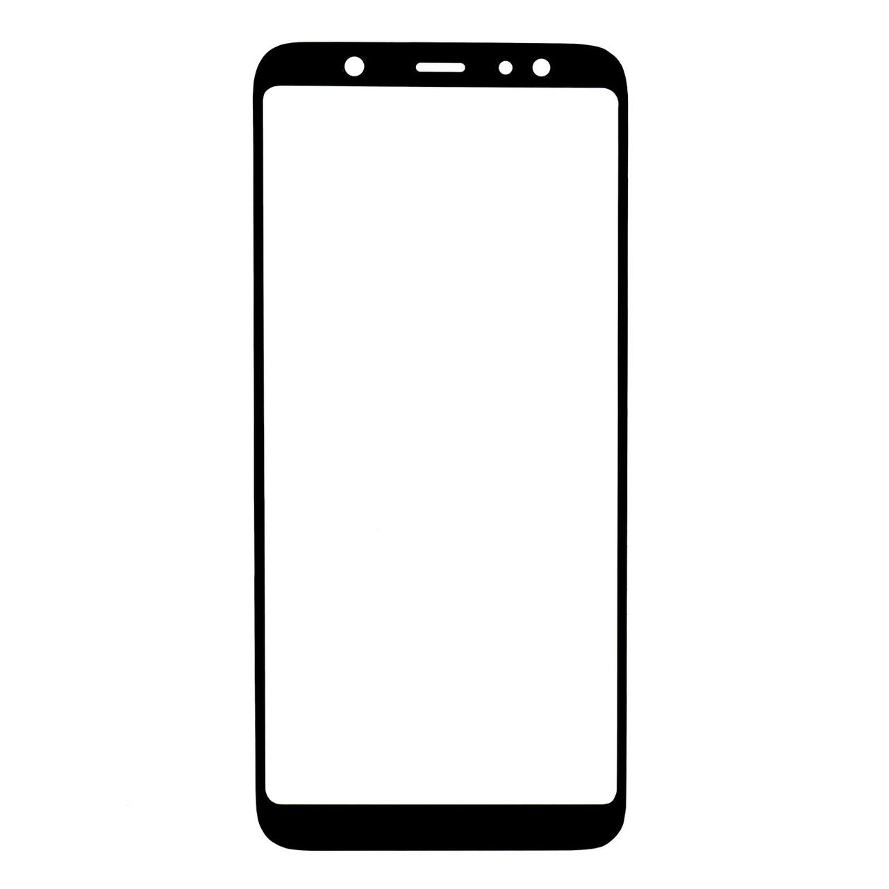 Стекло Samsung Galaxy J8 (2018) J810 Black