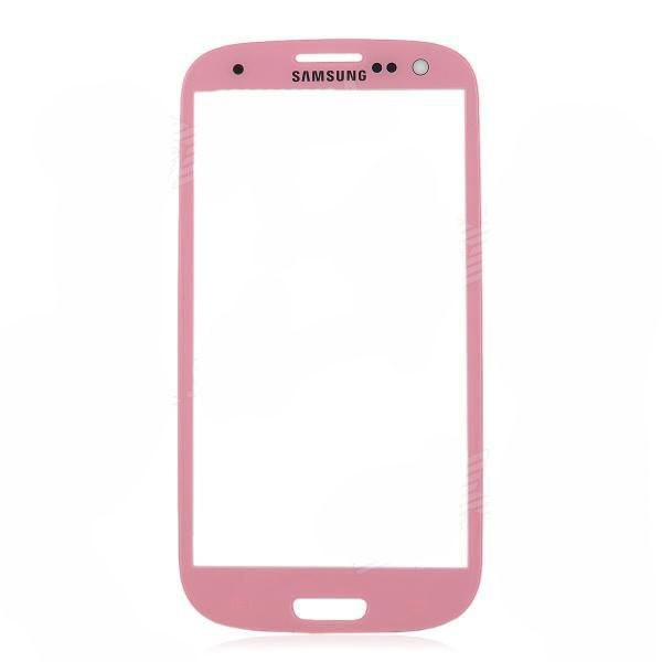 Стекло Samsung Galaxy S3 i9300 Pink (57)