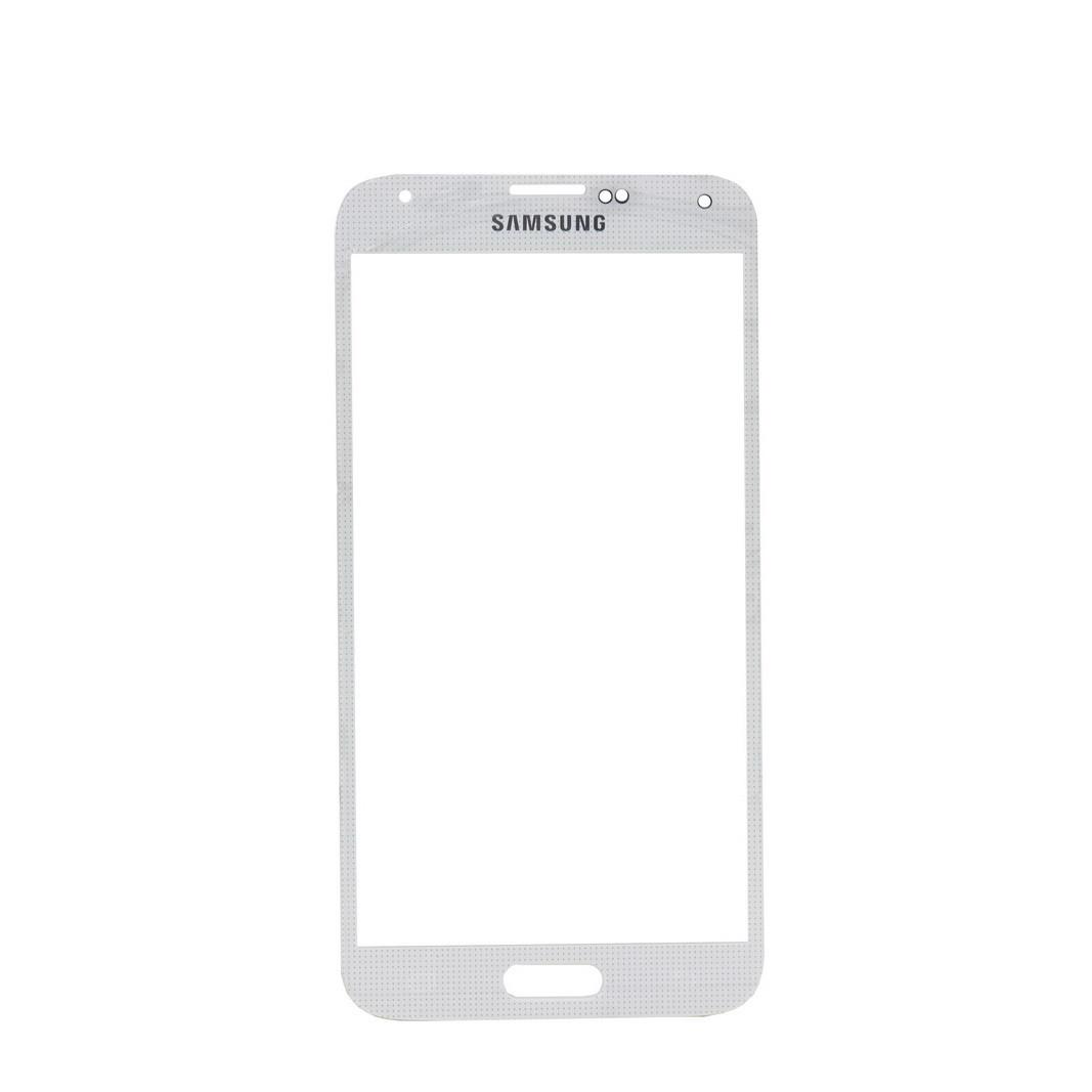 Стекло Samsung Galaxy S5 G900 White (57)