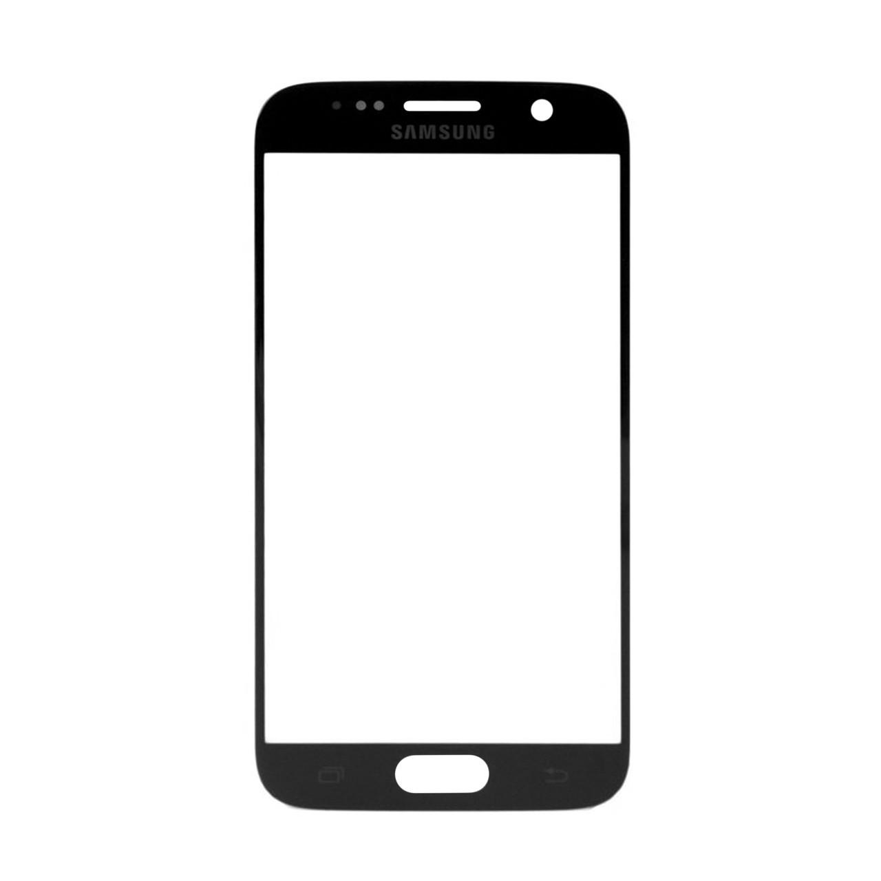 Стекло Samsung Galaxy S7 G930 Black (57)
