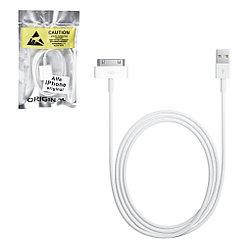 Кабель Apple iPhone 4G OEM, White