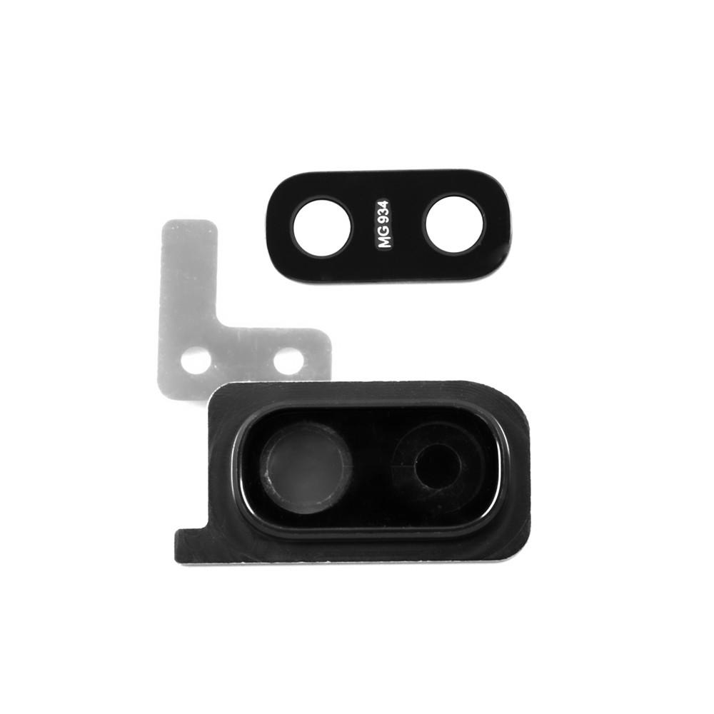 Стекло камеры Samsung Galaxy A20, Black