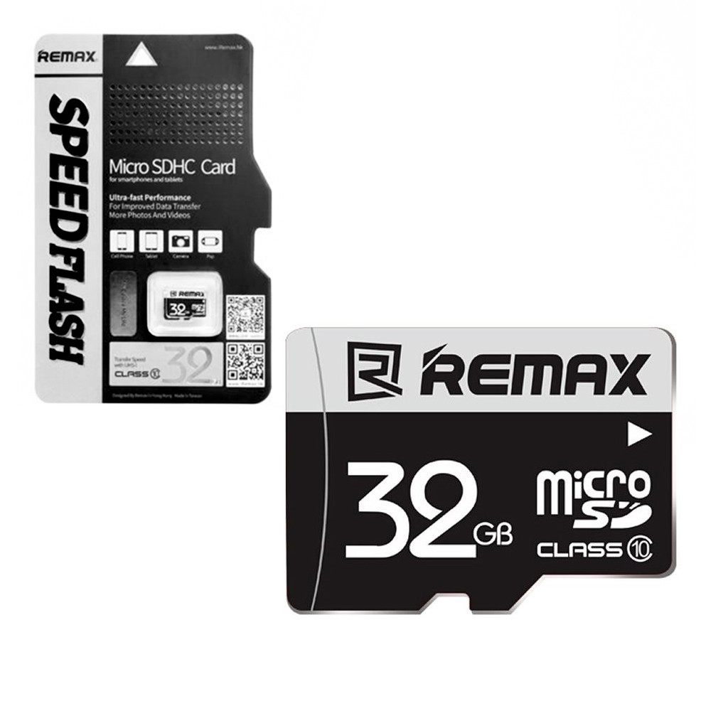 Карта памяти Micro SD 32Gb Remax Speed Flash class 10