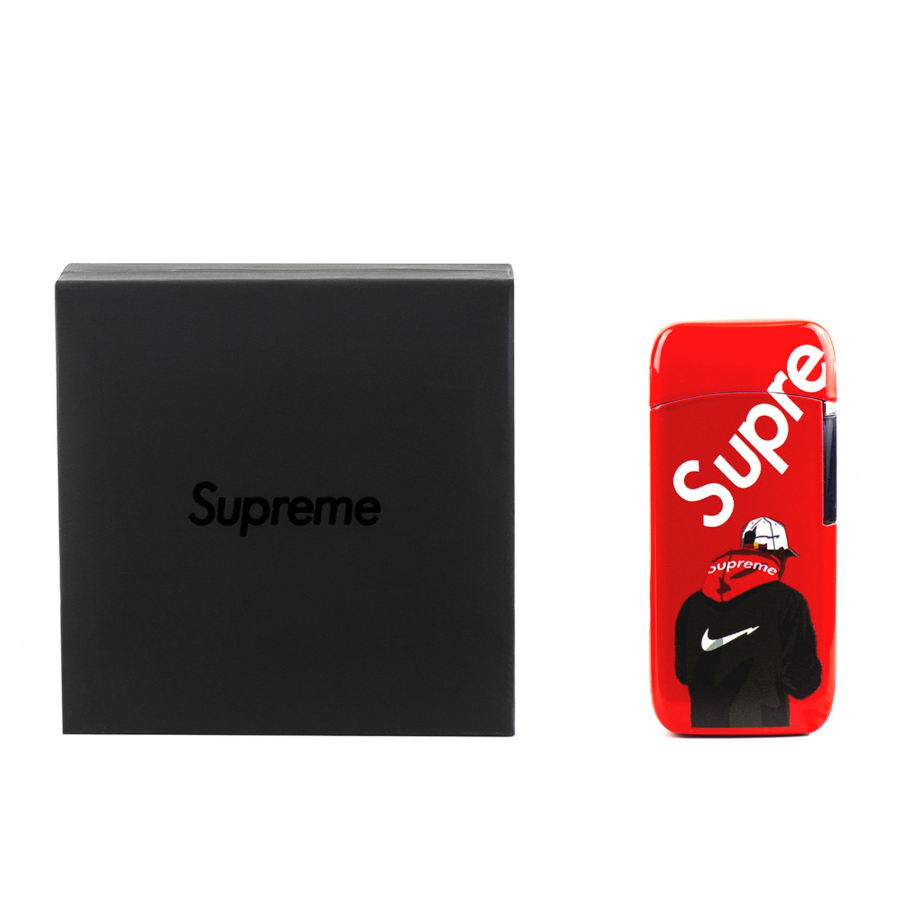 Плазменная зажигалка Supreme, Red
