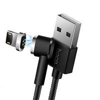 Кабель Apple lightning Hoco U20 magnetic charging 1m Black