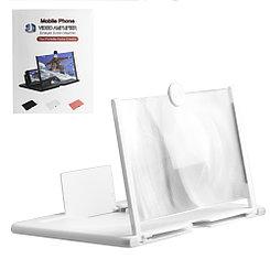 Подставка для телефона с 3D увеличителем экрана, Black