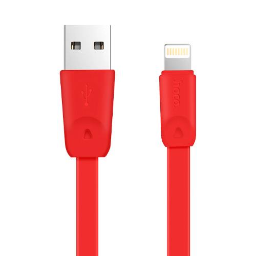 Кабель Apple lightning Hoco X9 Rapid 2.0m Red