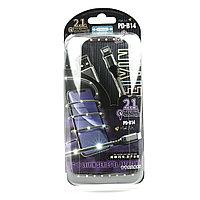 Кабель Apple lightning Proda PD-B14i Leiyin Series Gray