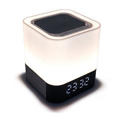 Портативная акустическая система Bluetooth BYZ BTS003 White/Silver
