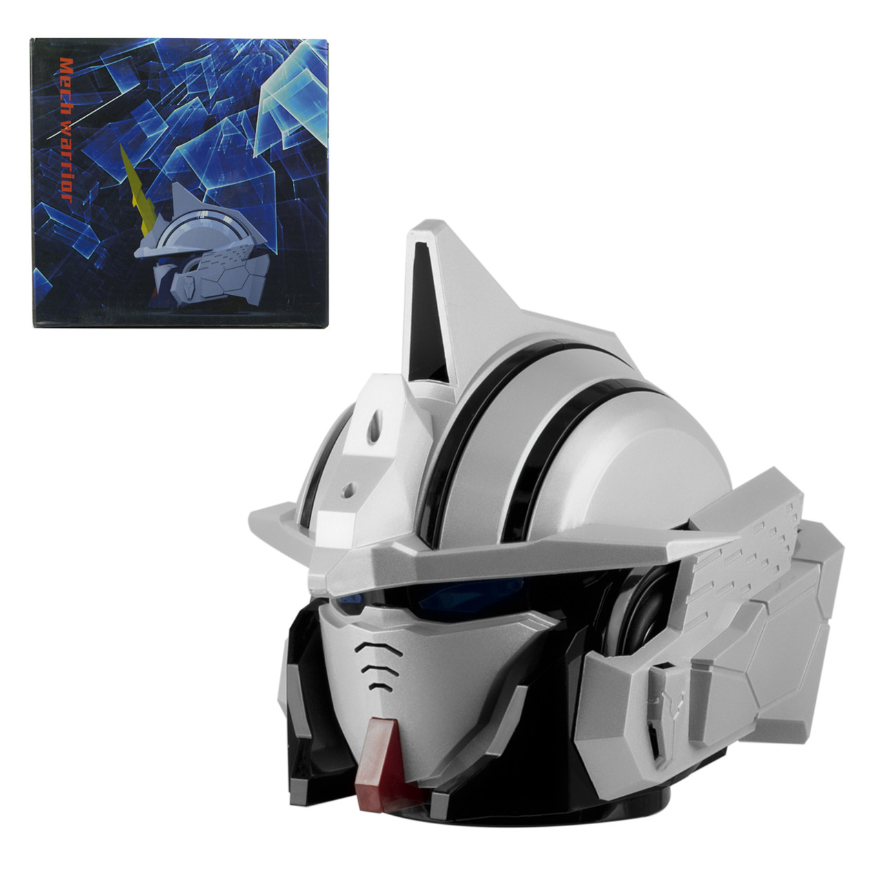Портативная акустическая система Bluetooth Mech Warrior MK-71, White