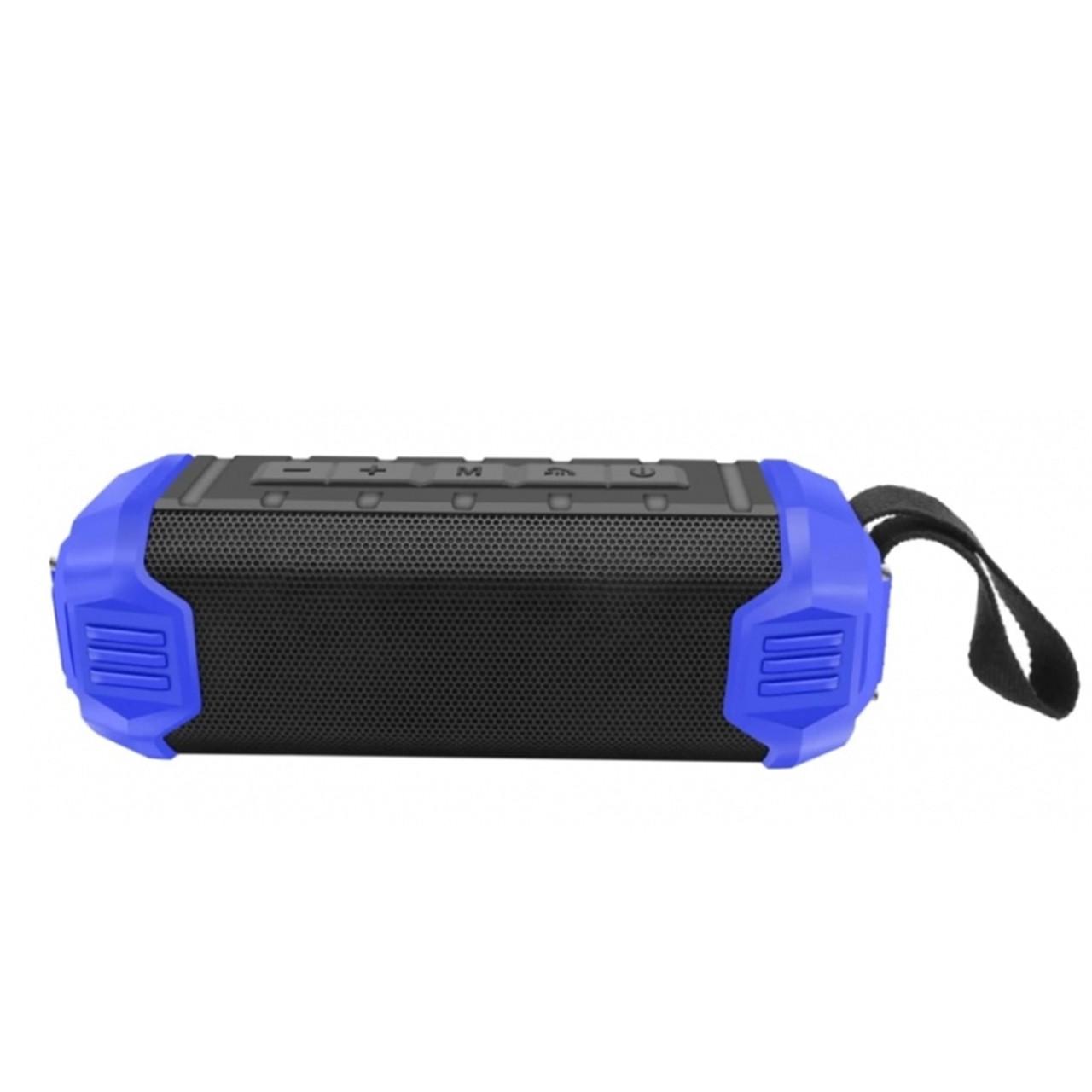 Портативная акустическая система Bluetooth New Rixing NR-1000, Blue