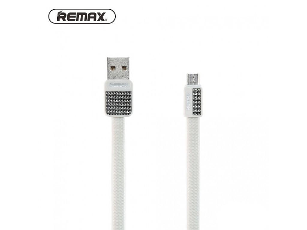 Кабель Micro USB Remax Metal RC-044m 1m White
